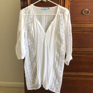 Solitaire Swim cover up